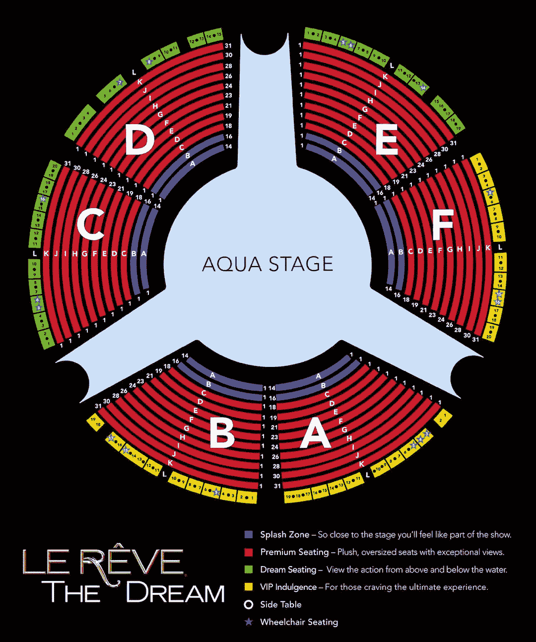 Le-reve-Theater-Seating-Chart